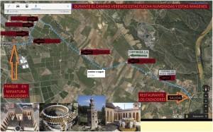 Mapa de como llegar a Villasudores