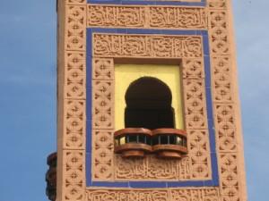 Detalle del balcón