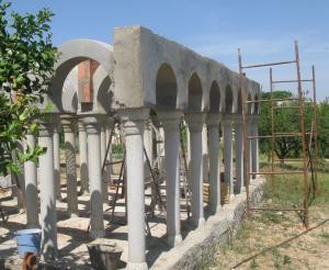 Mezquita en construcción